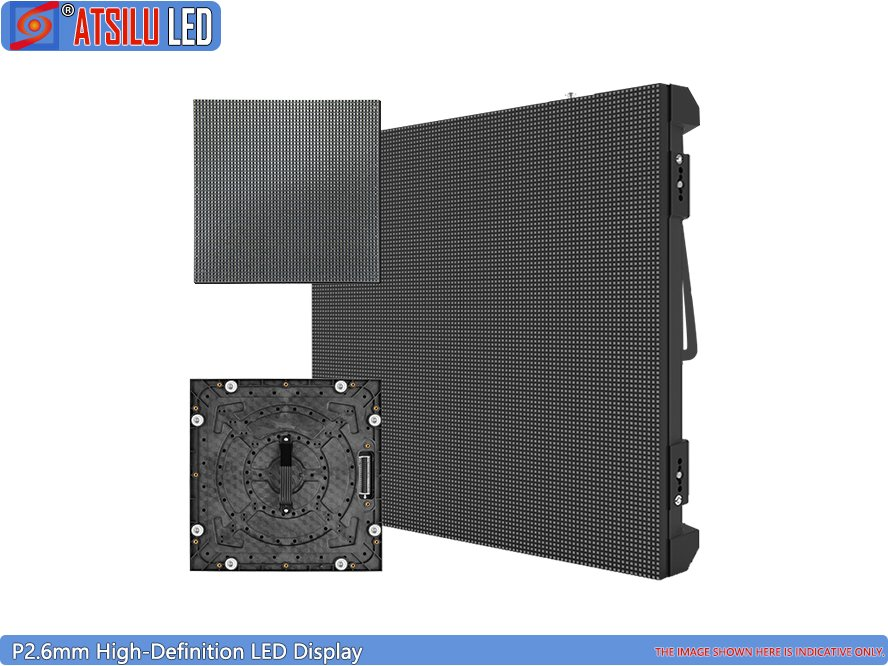 Indoor Popular 500mmx500mm Rental LED Display P2.6 HD