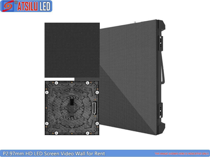 Outdoor Popular Rental LED Display P2.97mm