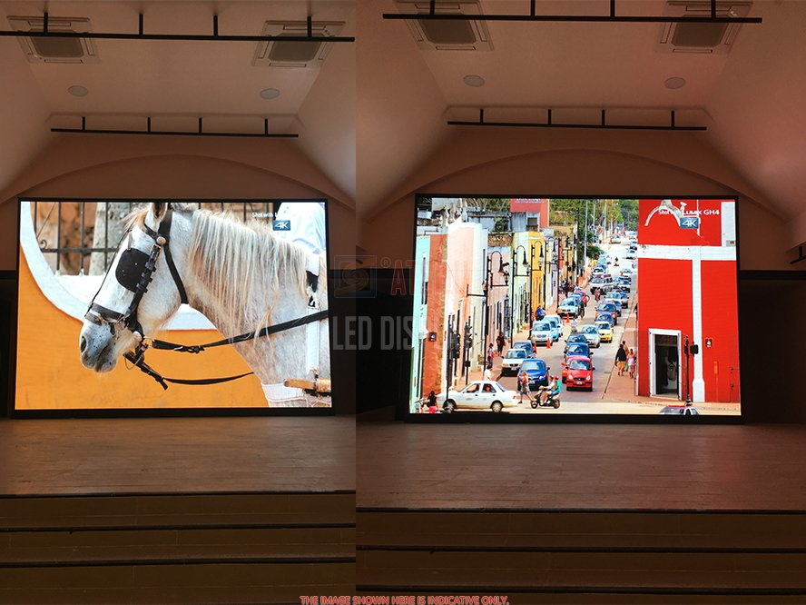 P2.5mm High Refresh Indoor LED Video Wall Lightweight LED Panel High-Resolution LED Display