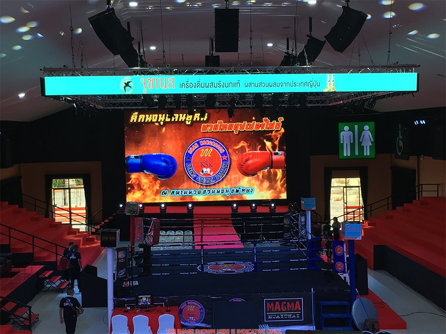 P2.6mm Indoor LED Video Display Both Rental and Fixed Installation Big LED Media Wall