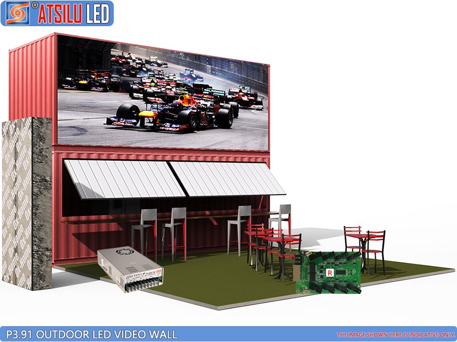 P3.91mm Outdoor LED Video Wall