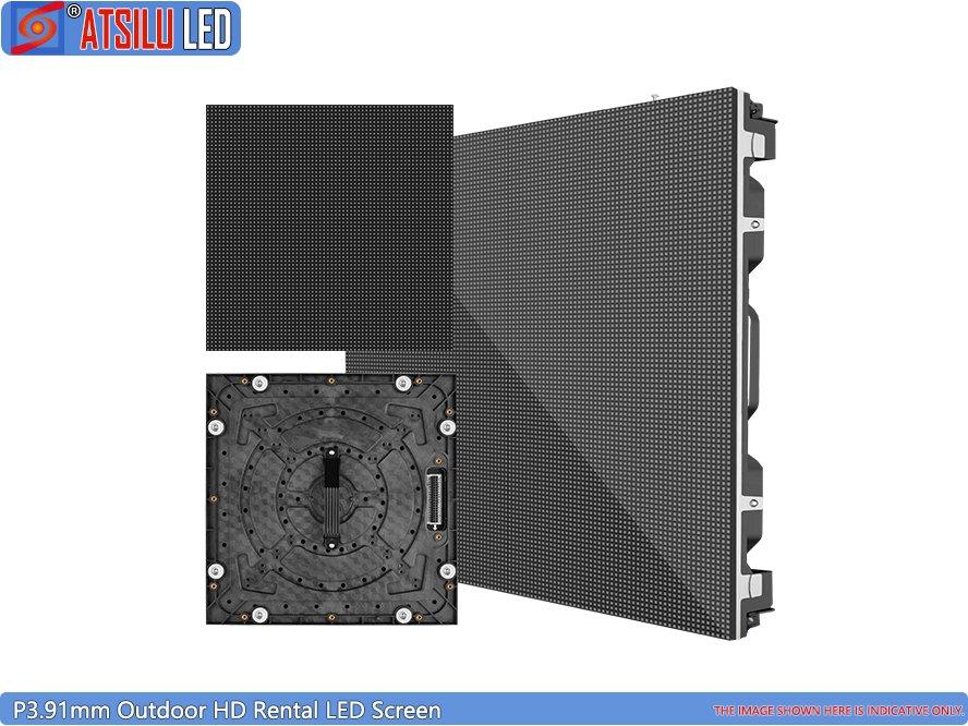 Telão LED para locação ao ar livre HD P3.91mm
