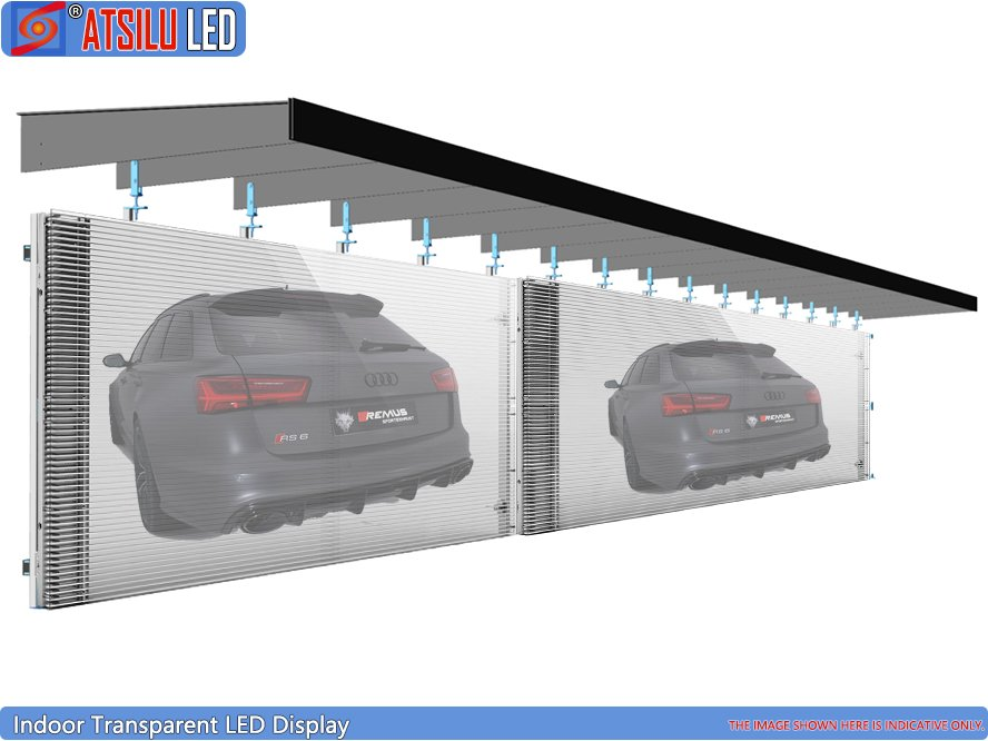 P3.91mm High-Definition Transparent LED Display Video Wall