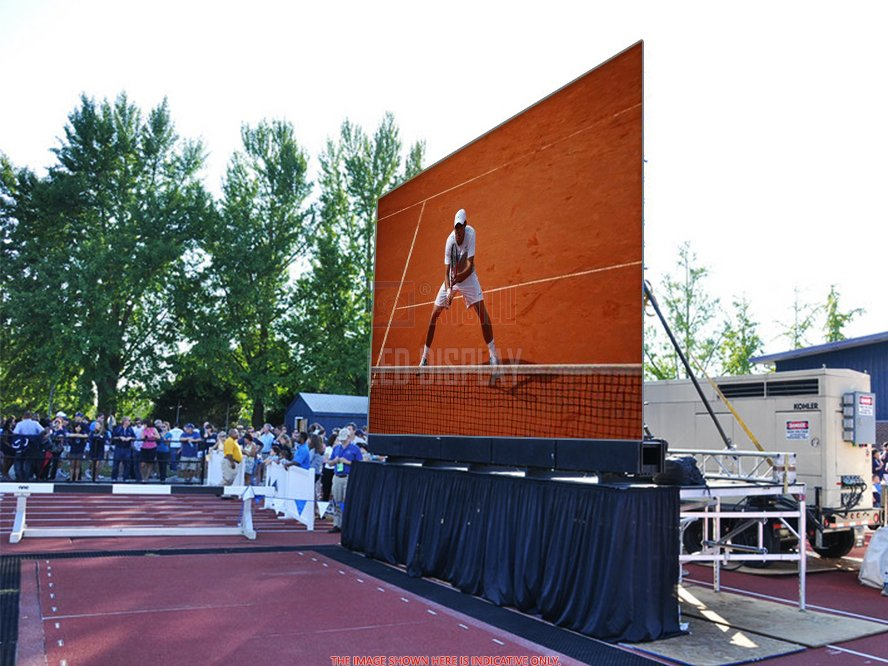 P3.91mm Outdoor Rental LED Display Die-casting Aluminum High Definition LED Screen Wall Panel