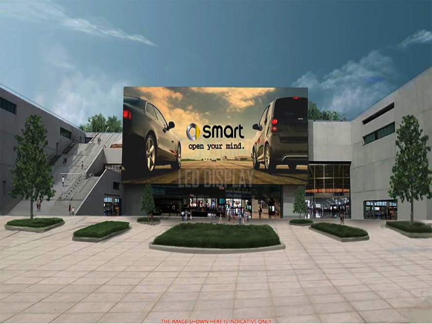 P3.91mm Outdoor LED Video Wall Fine Pitch High-Definition IP65 Grade Waterproof LED Display