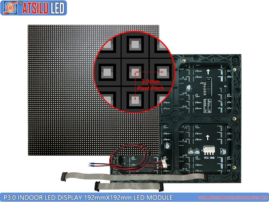 Módulo LED de LED para interior P3mm