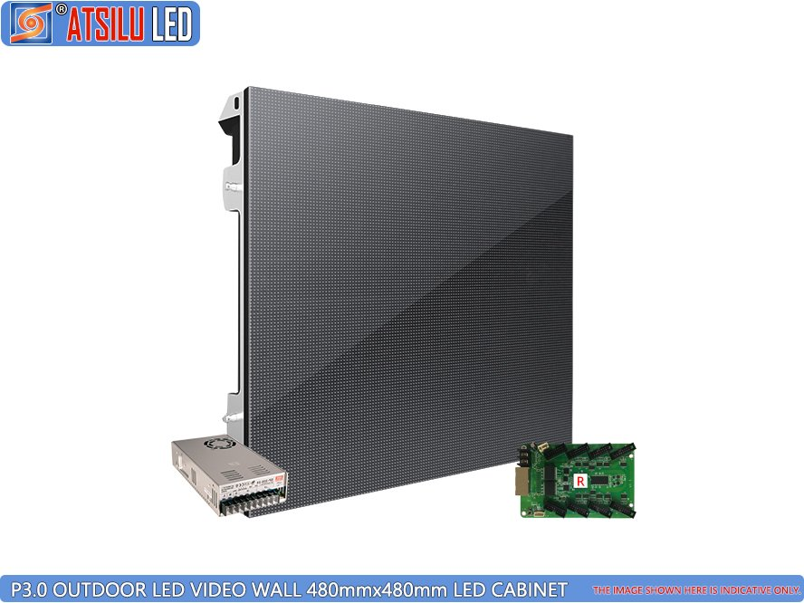 P3mm High-Definition LED Video Wall LED-kast voor buiten