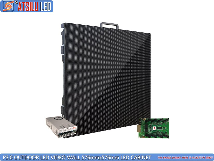 Panel de pared LED de video de alta definición para exteriores P3mm