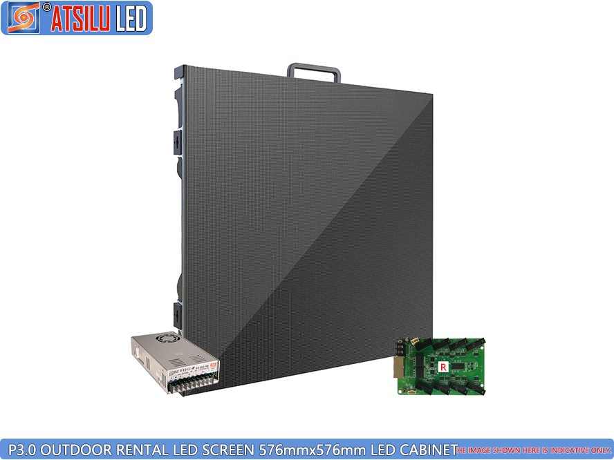 P3mm Outdoor Rental LED Screen LED Cabinet