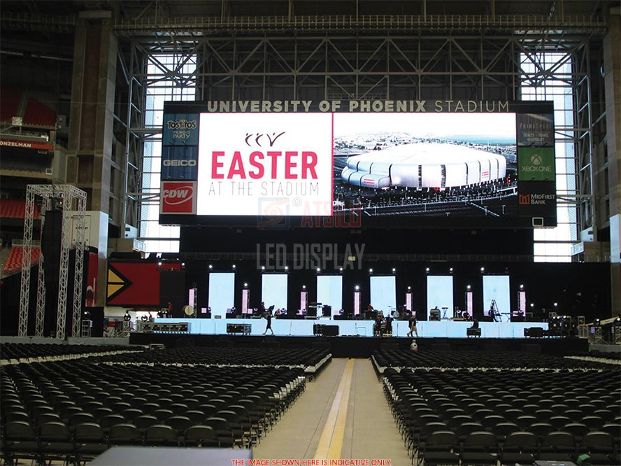 P3mm Indoor Rental LED Screen High-Resolution Lightweight Broadcasting LED Video Display