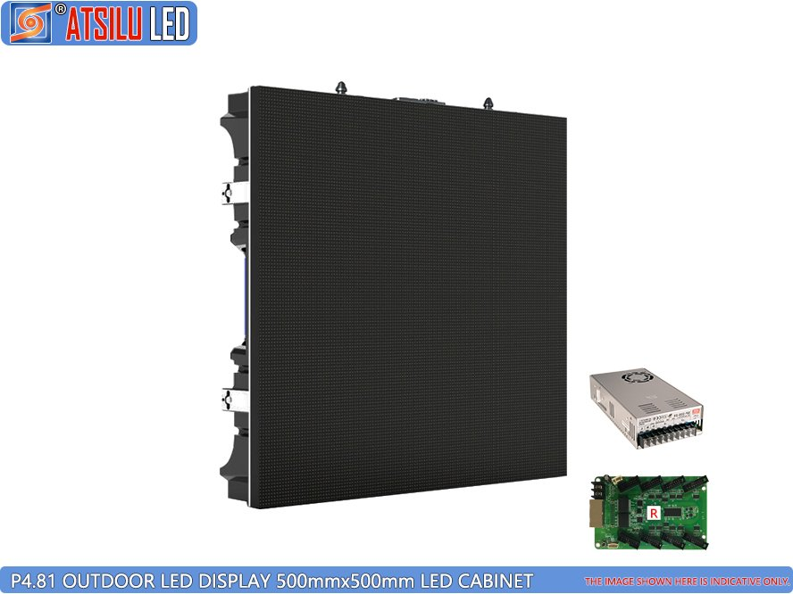 P4.81mm Alquiler de Panel LED de Pantalla LED