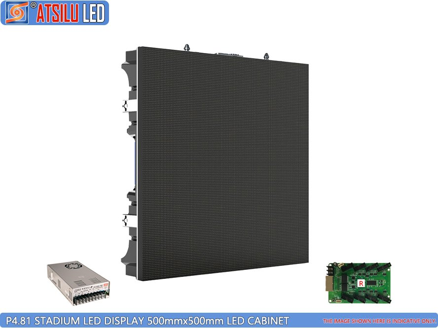 P4.8mm Stadium LED Videoanzeige 500x500 LED Panel