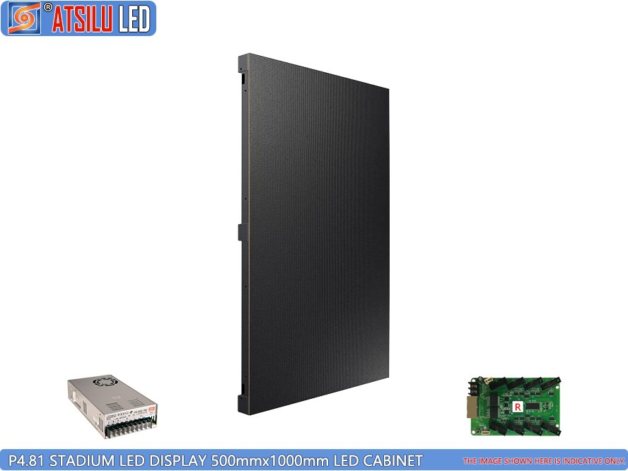 P4.8mm Stadium LED Display Leichtes LED Panel