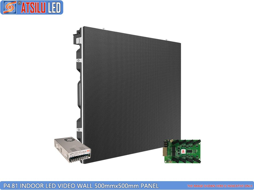 P4.81mm Kabinet LED Video Dinding Dalam Ruangan