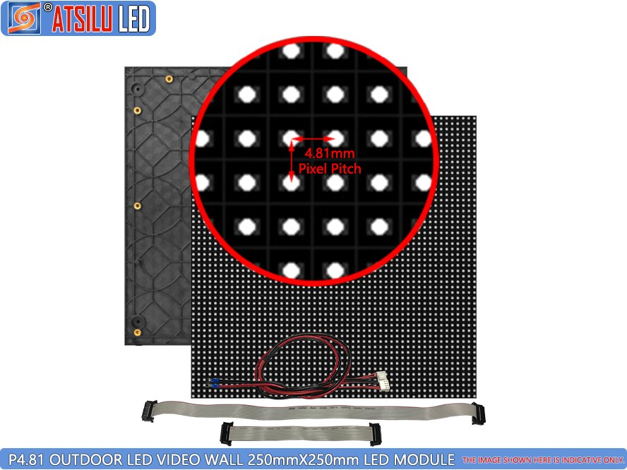 P4.81mm Outdoor LED Video Wall LED Module