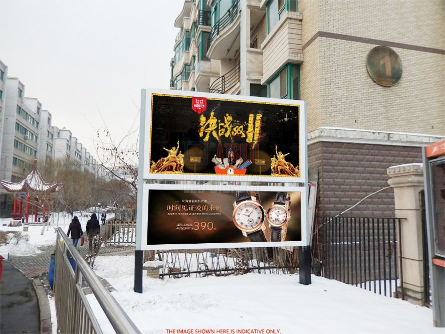 P4.81mm Outdoor HD Digital Billboard High-Definition Big LED Video Wall For High-End Market