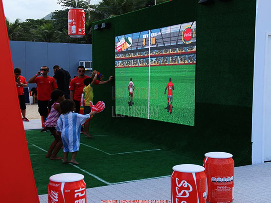 P4.8mm Stadium LED Video Display Sports Venues Big LED Video Wall LED Screen Panel