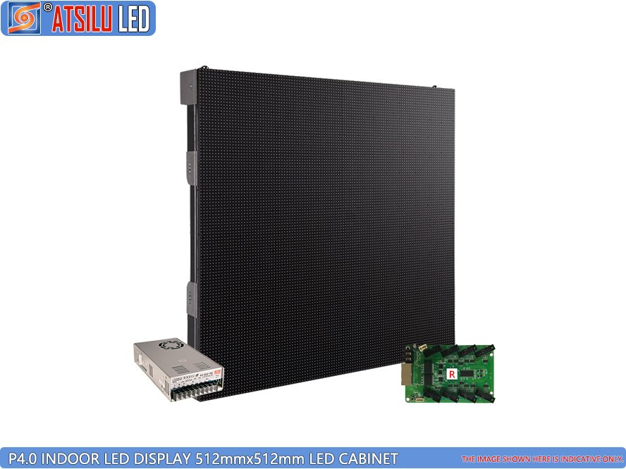P4mm High-Performance Indoor LED Display Cabinet