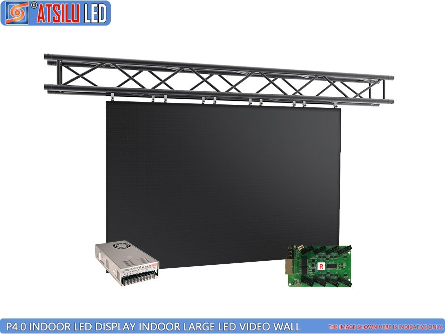 P4mm High-Performance Indoor LED Display Video Wall