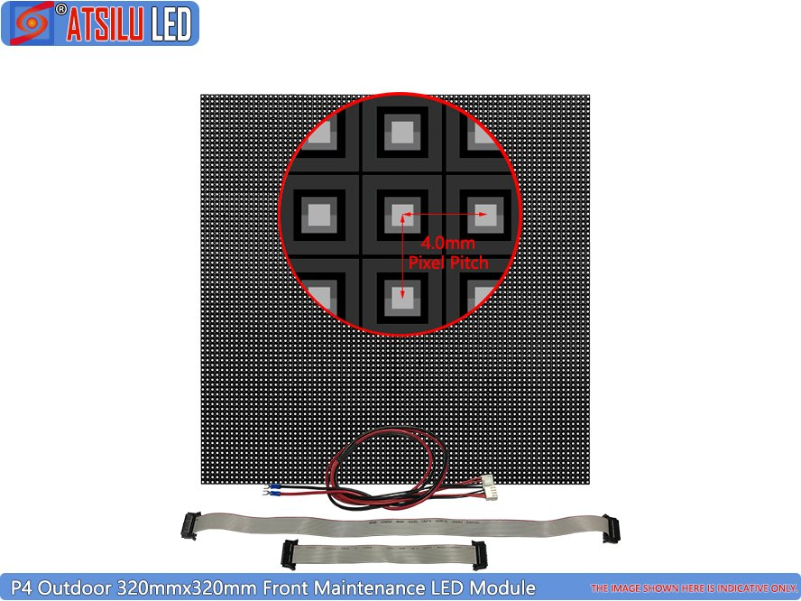 P4mm UHD Front Maintenance LED Display Module