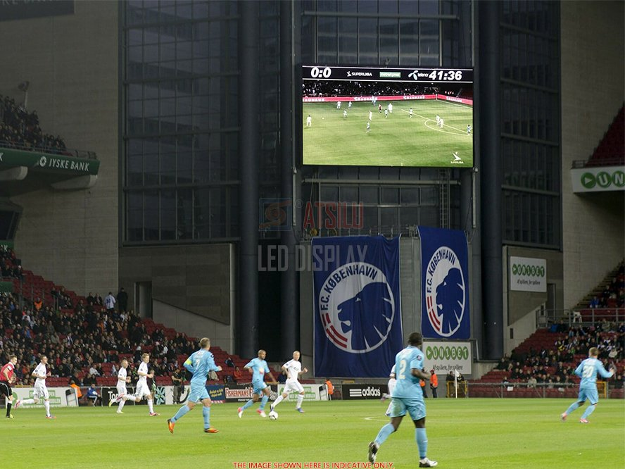 P4mm Football Stadium HD LED Display Bright-view Live Television LED Back-lite LED Screen