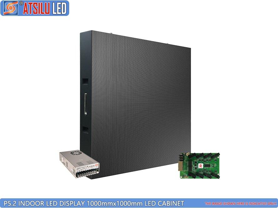 Armário de LED para monitor de interior P5.2mm