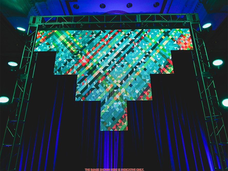 P5.2mm Indoor LED Display High-Performance Stage Background Lightweight SMD LED Panel
