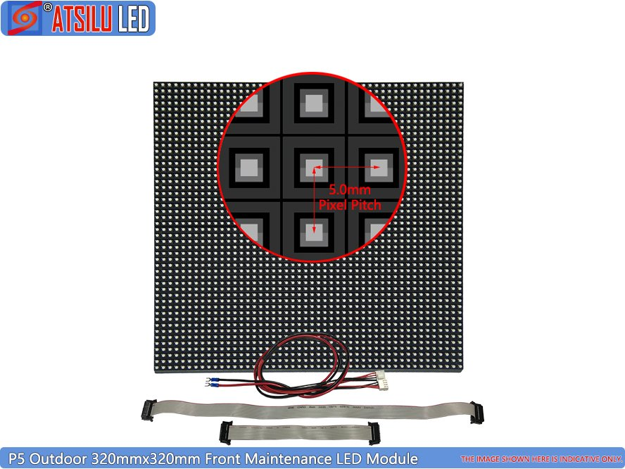 P5mm Outdoor Front Access HD LED Display Module