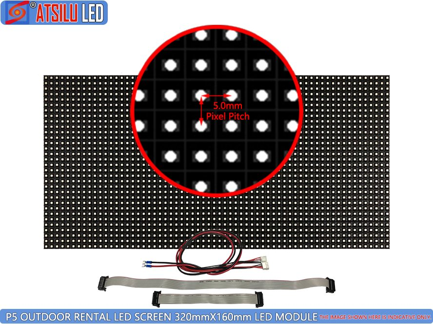 P5mm Outdoor Rental LED Screen LED Module