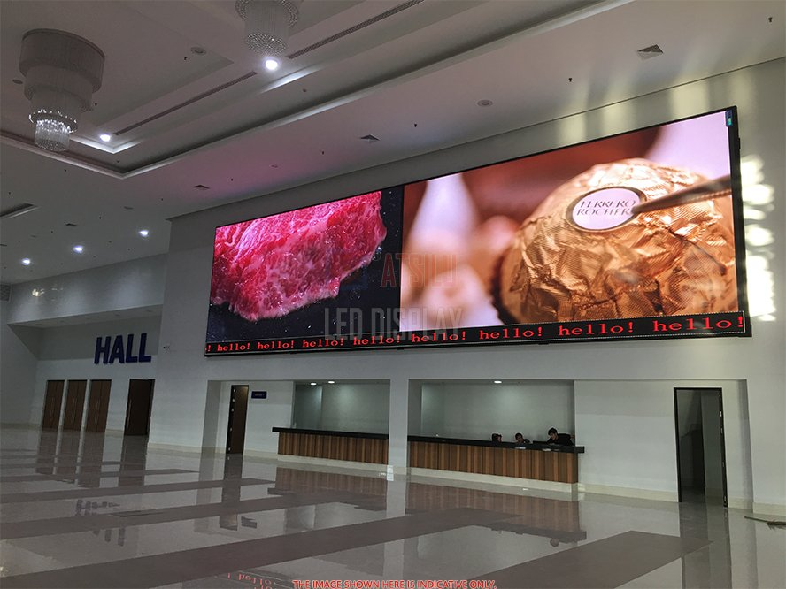 P5mm Indoor LED Video Wall Full-Colour SMD2121 High Refresh LED Display Video Panel Screen