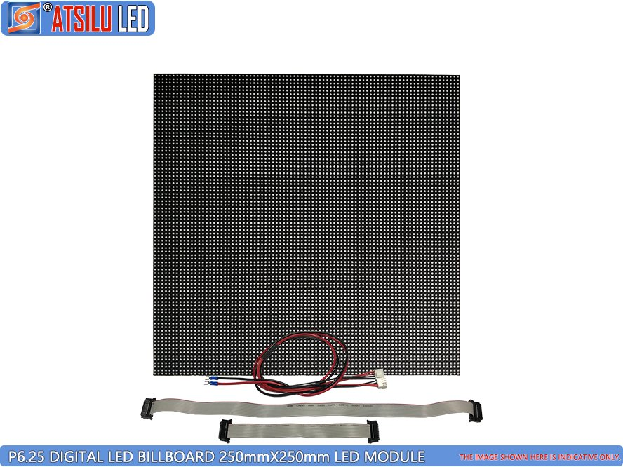 P6.25mm High-Resolution Advertising Digital Billboard LED Module