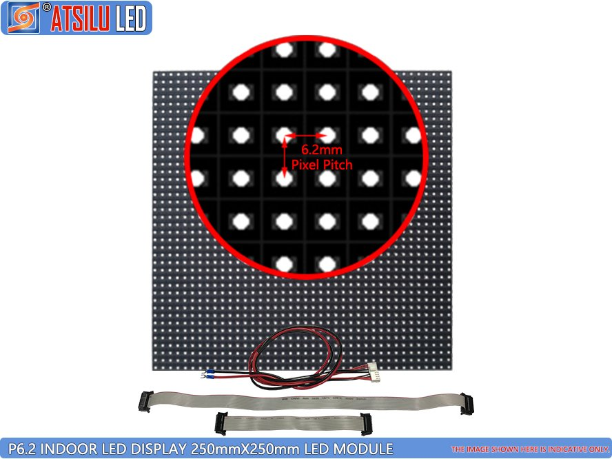 P6.2mm SMD3528 Indoor LED Video Display LED-module