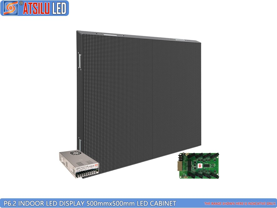 P6.2mm SMD3528 Indoor LED Video Display LED-kast