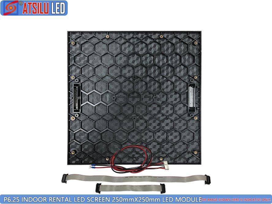 P6.25mm Miet-LED-Bildschirmmodul für Innenräume