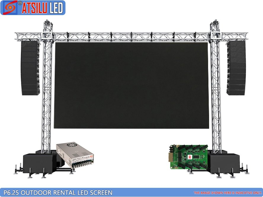 P6.25mm Outdoor Rental LED Screen