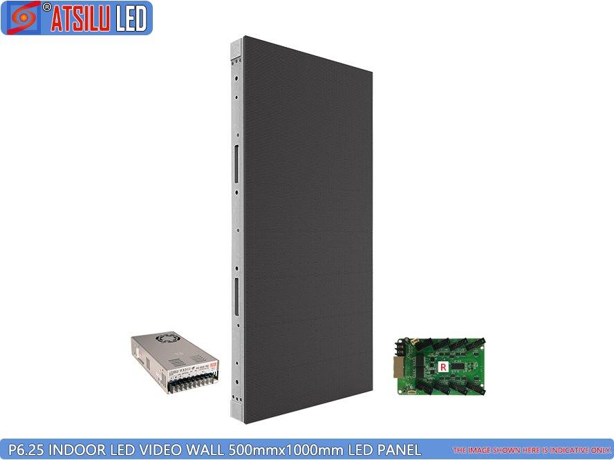 P6.25 Kabinet LED Dinding Video LED Dalam Ruangan