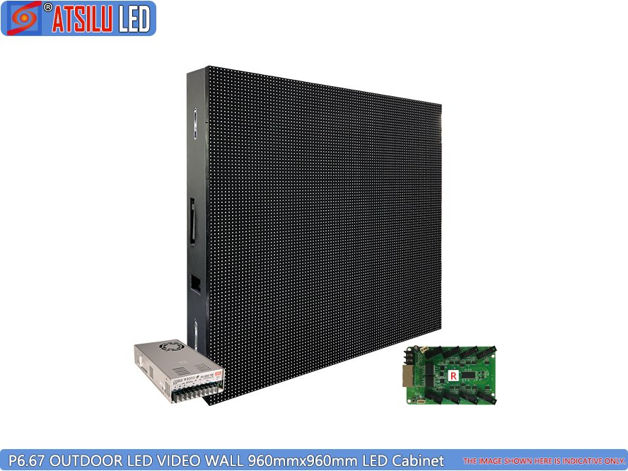 P6.67mm Outdoor LED Video Wall LED Cabinet