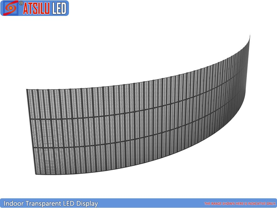 P6.25mm flexible transparente LED-Anzeige