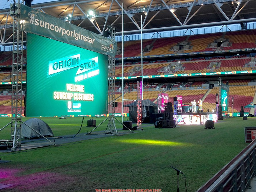 P6.25mm Outdoor Rental LED Screen High-Resolution Hire LED Video Wall for Stage and Events