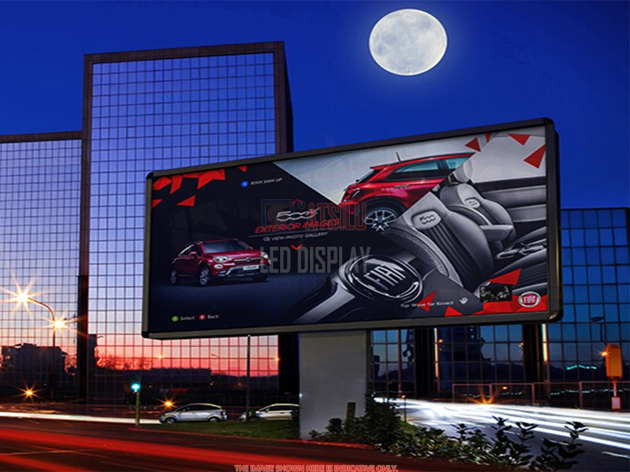 P6.67mm Outdoor LED Video Wall Pemeliharaan Depan Panel LED Dinding Iklan Video