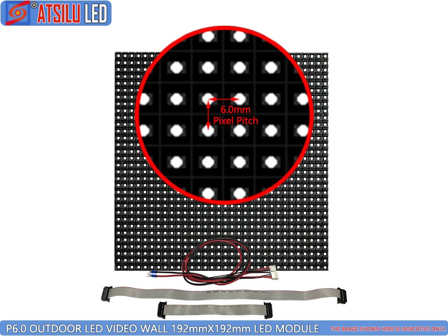 P6mm Outdoor LED Video Wall LED Module