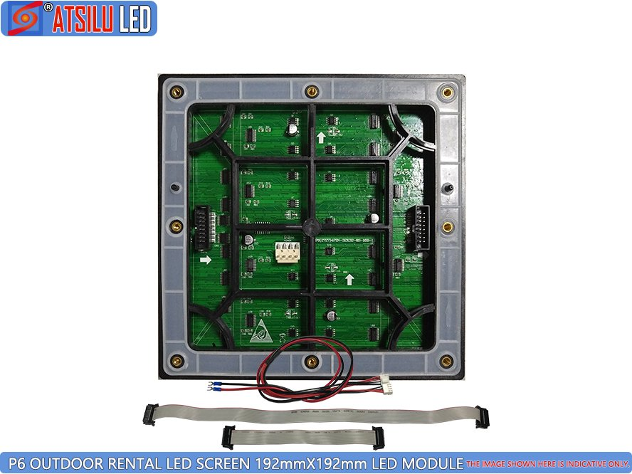 P6mm Outdoor Rental LED Screen Module