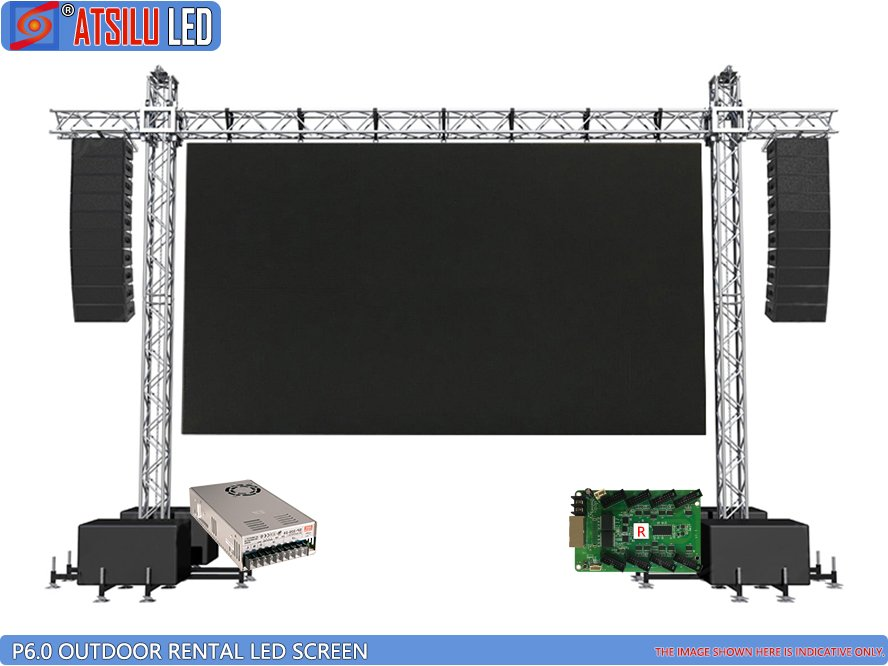P6mm Outdoor LED Wall Wall