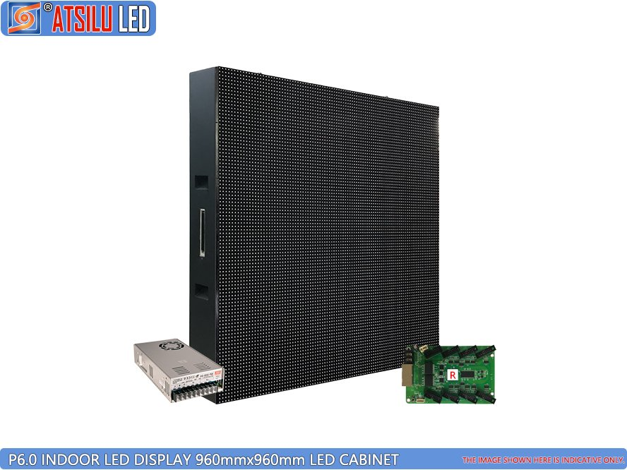 P6mm Preisnachlass Innen LED LED Display LED-Schrank