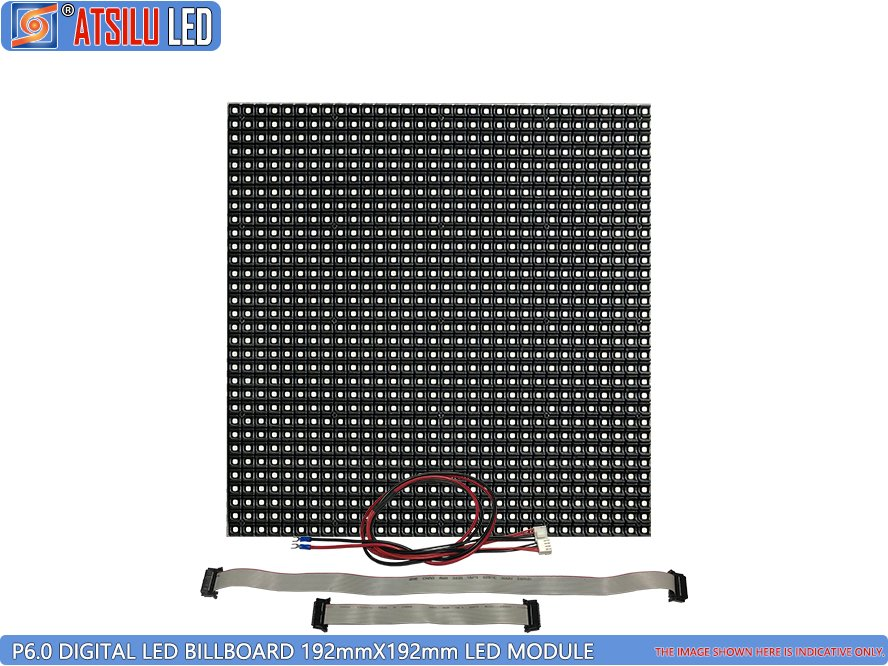 P6mm Digital LED Billboard SMD2727 Modul LED