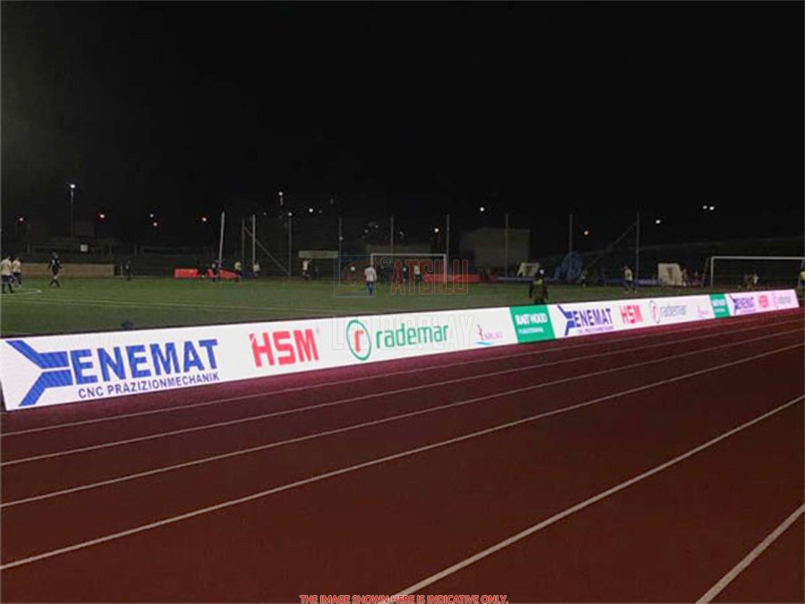 P6mm Perímetro de estadio de alta resolución Panel de pantalla LED Banner Eventos deportivos Pantalla de video LED