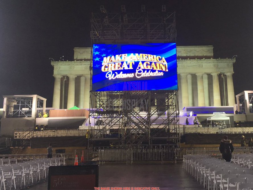 P6mm Outdoor Rental LED Screen Lightweight LED Panel Stage Big Performance Video Wall Display