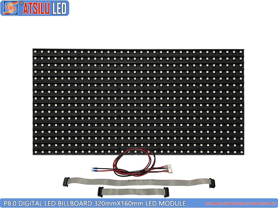 P8mm Outdoor Digital Video Billboard LED Module