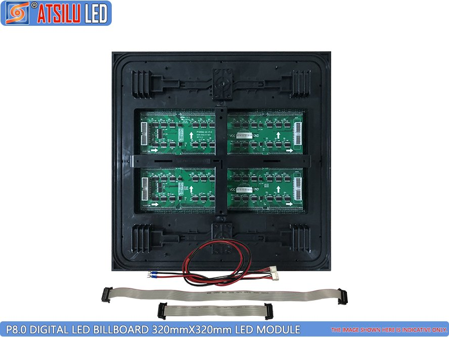 P8mm Front Access LED Billboard LED Module