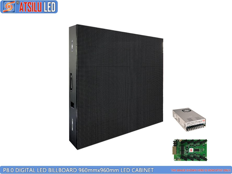 P8mm Front Service LED Video Billboard LED Cabinet